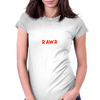 RAWR Womens Fitted T-Shirt