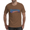 Re-Elect Bernie Sanders 2020 - Flag Underline Mens T-Shirt