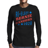 Re-Elect Bernie Sanders 2020 - Tri Color Mens Long Sleeve T-Shirt