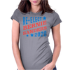 Re-Elect Bernie Sanders 2020 - Tri Color Womens Fitted T-Shirt