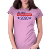 Re-Elect Hillary Clinton 2020 - Bold Stars Womens Fitted T-Shirt