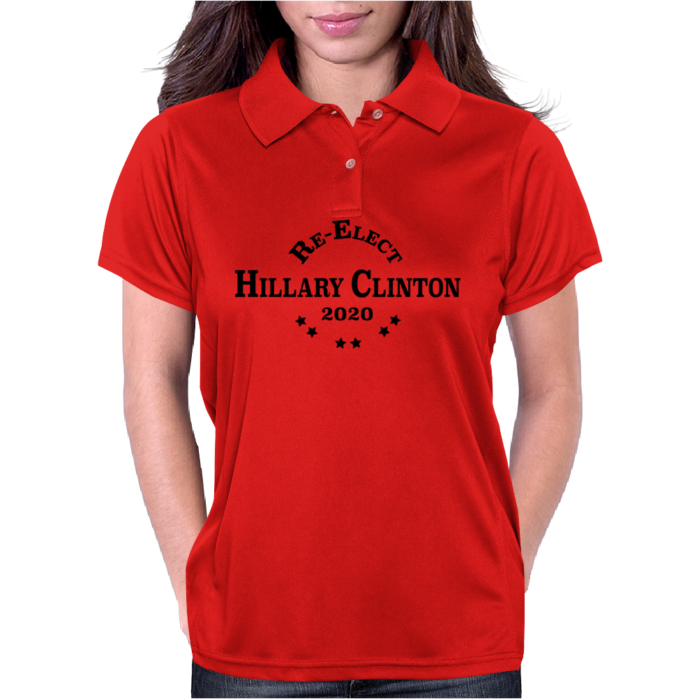 Re-Elect Hillary Clinton 2020 - Collegiate Womens Polo