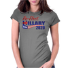 Re-Elect Hillary Clinton 2020 - Flag Underline Womens Fitted T-Shirt