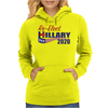 Re-Elect Hillary Clinton 2020 - Flag Underline Womens Hoodie