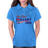 Re-Elect Hillary Clinton 2020 - Flag Underline Womens Polo
