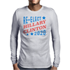 Re-Elect Hillary Clinton 2020 - Tri Color Mens Long Sleeve T-Shirt