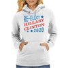 Re-Elect Hillary Clinton 2020 - Tri Color Womens Hoodie
