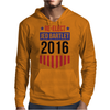 Re-Elect Jed Bartlet 2016 - Badge Mens Hoodie