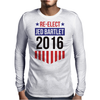 Re-Elect Jed Bartlet 2016 - Badge Mens Long Sleeve T-Shirt