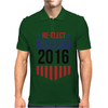 Re-Elect Jed Bartlet 2016 - Badge Mens Polo