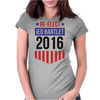 Re-Elect Jed Bartlet 2016 - Badge Womens Fitted T-Shirt