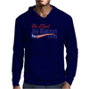 Re-Elect Jed Bartlet 2016 - Flag Underline Mens Hoodie