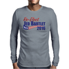 Re-Elect Jed Bartlet 2016 - Flag Underline Mens Long Sleeve T-Shirt