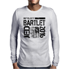 Re-Elect Jed Bartlet 2016 - Textured Mens Long Sleeve T-Shirt