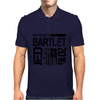 Re-Elect Jed Bartlet 2016 - Textured Mens Polo