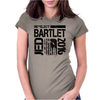 Re-Elect Jed Bartlet 2016 - Textured Womens Fitted T-Shirt