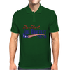 Re-Elect Jed Bartlet 2020 - Flag Underline Mens Polo
