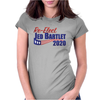 Re-Elect Jed Bartlet 2020 - Flag Underline Womens Fitted T-Shirt