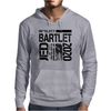 Re-Elect Jed Bartlet 2020 - Textured Mens Hoodie