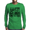 Re-Elect Jed Bartlet 2020 - Textured Mens Long Sleeve T-Shirt