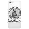 Re-Elect Mayor Larry Vaughn black text Phone Case