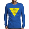 "Re-Think BThe Thorium square from the Periodic Table of the Elements, using the ""Th"" to form ""re-Thi Mens Long Sleeve T-Shirt"