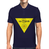 "Re-Think BThe Thorium square from the Periodic Table of the Elements, using the ""Th"" to form ""re-Thi Mens Polo"