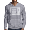 Read Books No More TV Mens Hoodie