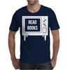 Read Books No More TV Mens T-Shirt