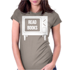 Read Books No More TV Womens Fitted T-Shirt