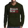 Reagan Bush '84 80's Retro Political Party Mens Hoodie