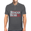 Reagan Bush '84 80's Retro Political Party Mens Polo
