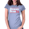 Reagan Bush '84 80's Retro Political Party Womens Fitted T-Shirt