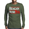 Reagan Bush 84 Mens Long Sleeve T-Shirt