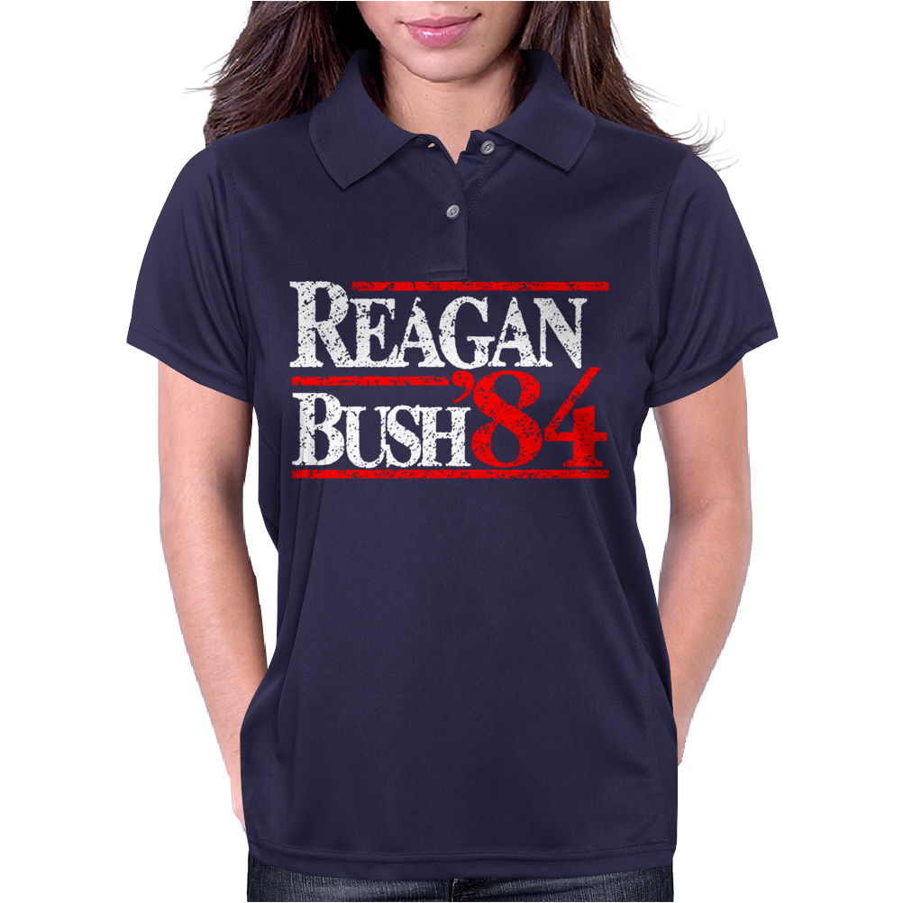 Reagan Bush 84 Womens Polo