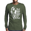 Real Hip Hop Never Die Mens Long Sleeve T-Shirt
