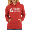real men change diapers Womens Hoodie