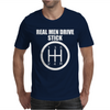 Real Men Drive Stick Mens T-Shirt