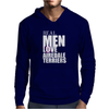 Real men love Airedale Terrier Mens Hoodie