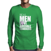 Real men love Airedale Terrier Mens Long Sleeve T-Shirt