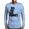 Real Men Love Bunnies Mens Long Sleeve T-Shirt