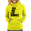 Real Men Love Bunnies Womens Hoodie