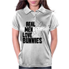 Real Men Love Bunnies Womens Polo