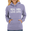 Real Men Love Cats Womens Hoodie