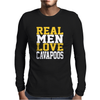 Real Men Love Cavapooos Mens Long Sleeve T-Shirt
