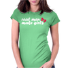 Real Men Make Girls Womens Fitted T-Shirt