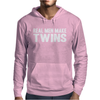 Real Men Make Twins Mens Hoodie