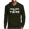 Real Men Make Twins. Mens Hoodie