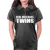 Real Men Make Twins Womens Polo
