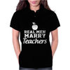 Real Men Marry Teachers aple Womens Polo